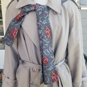 London fog tan trench coat